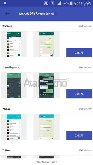 Cara Download Tema WhatsApp plus